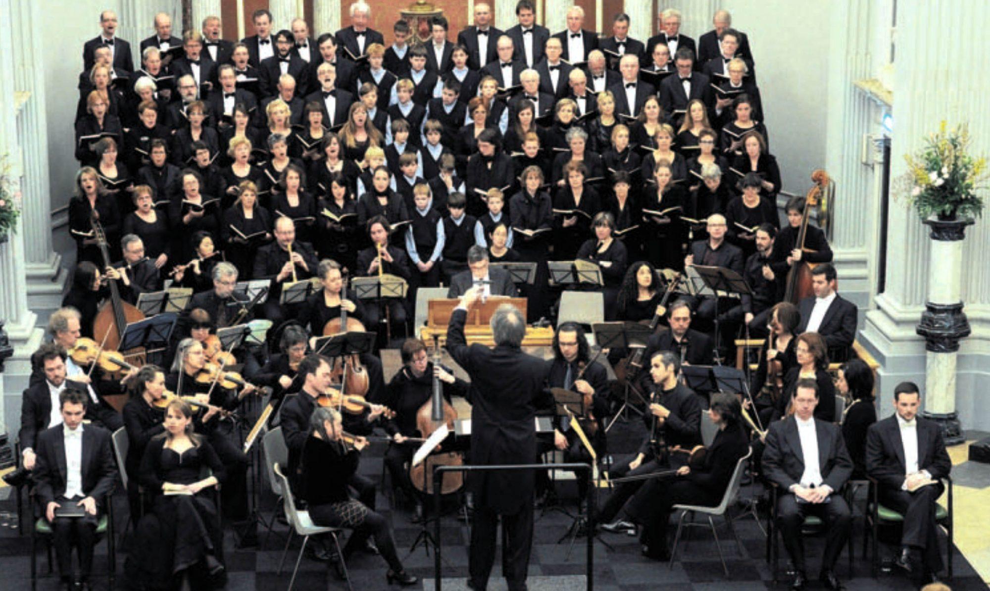 Bachkoor Brabant zingt de Matthaus Passion in Oudenbosch Maart 2013