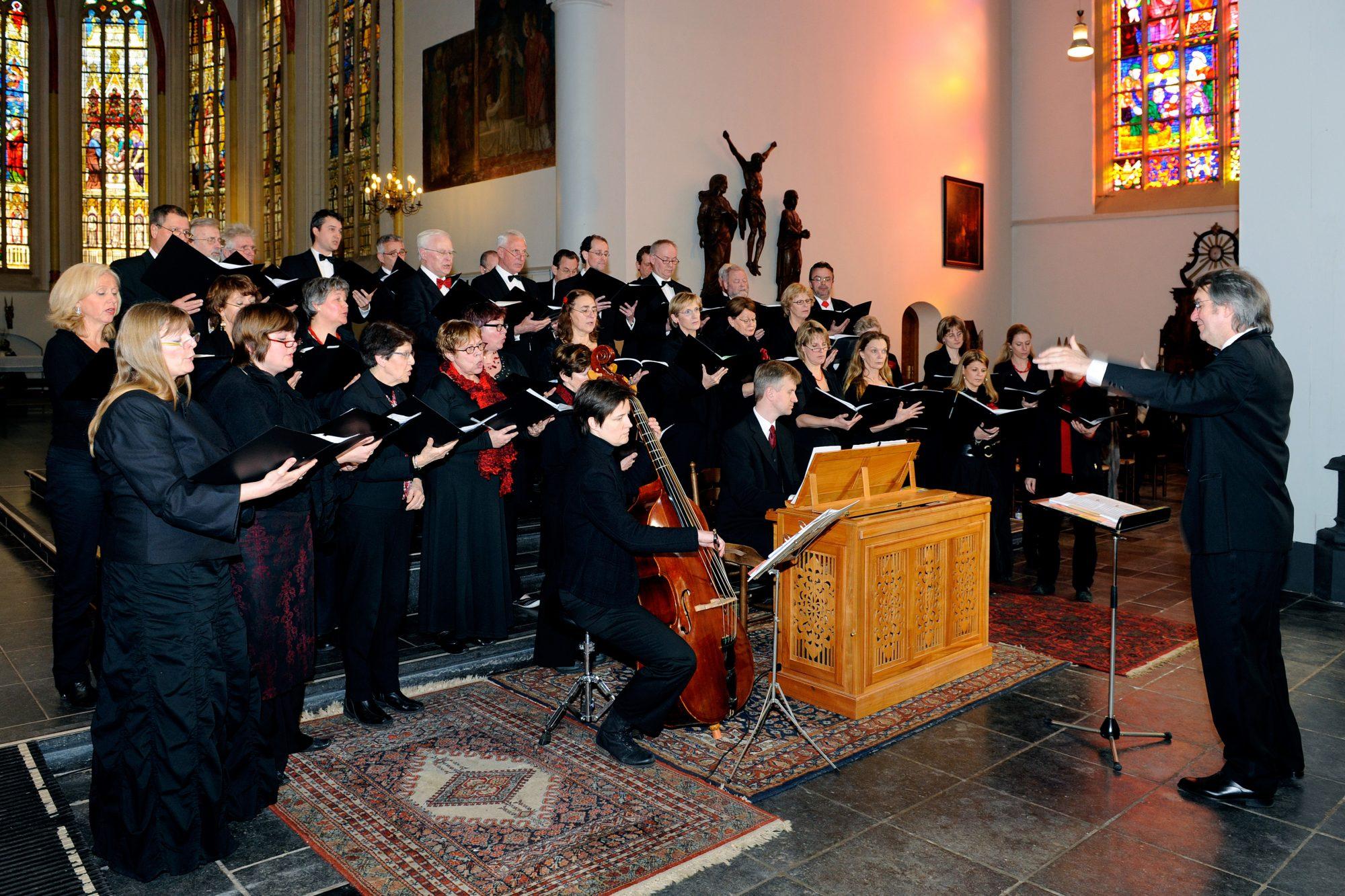 Bachkoor Brabant Jubileumconcert Barokmotetten 2011