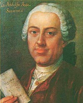 De muziek van Johann Adolf Hasse is te beluisteren bij het concert van Bachkoor Brabant op 27 oktober 2013