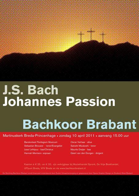 Johannes Passion Bachkoor Brabant