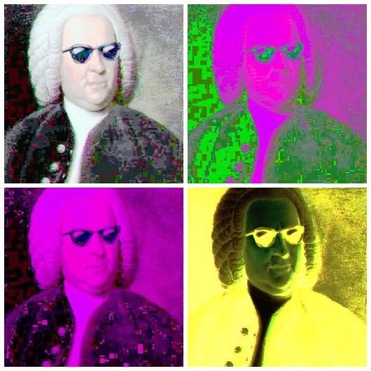 Bach door Andy Warhol. Bachs Grenzeloze muzikale invloeden: Bachkoor Brabant
