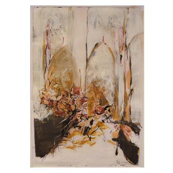 Schilderij Lya van Irsel