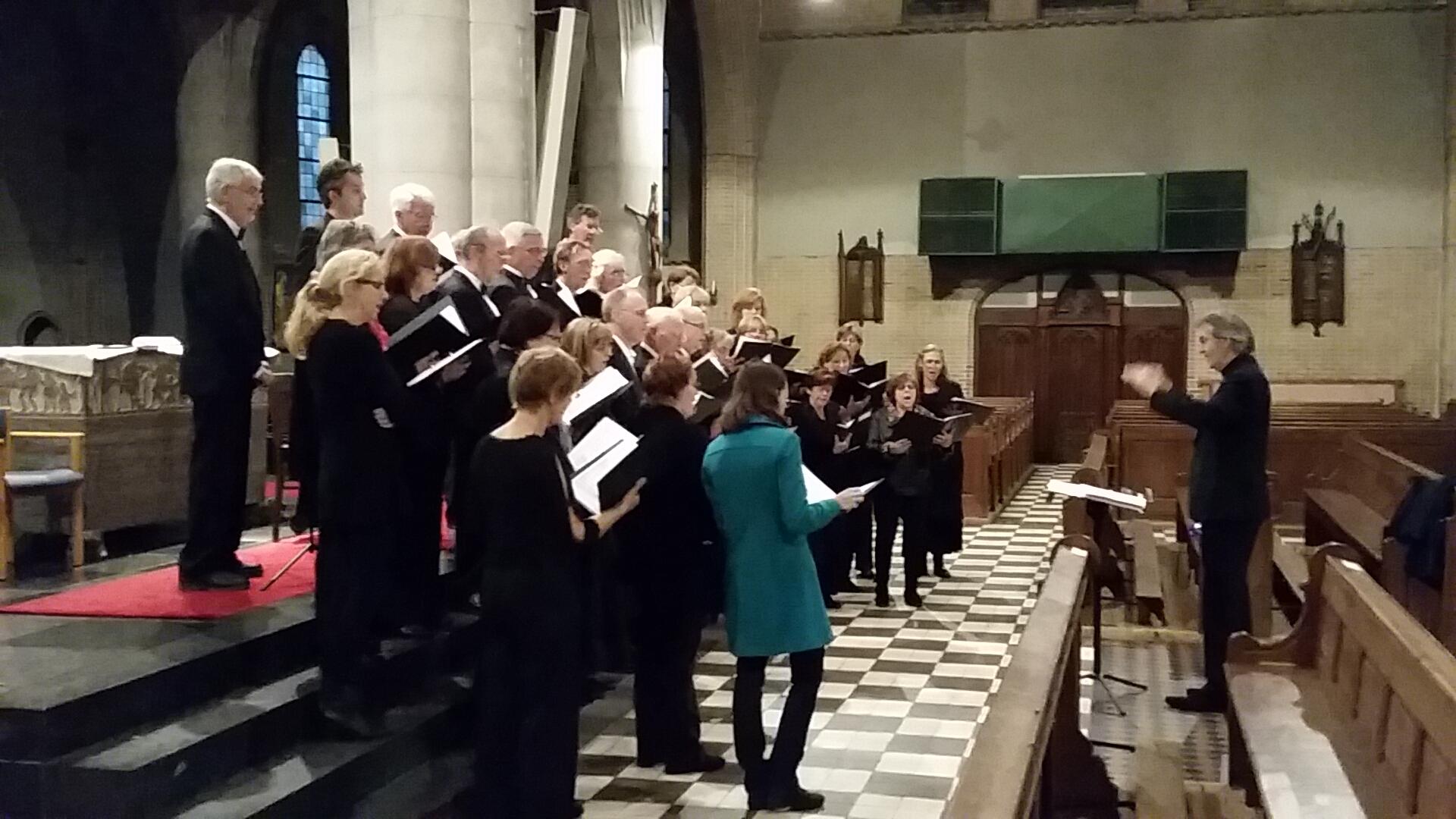 Uitvoering in de Laurentuiskerk