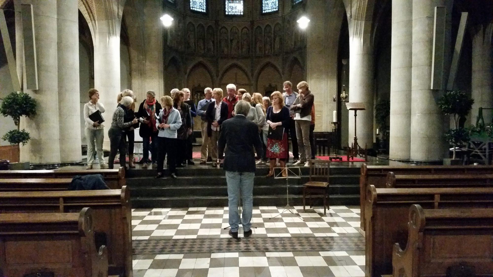 Generale repetitie Bachkoor Brabant Laurentiuskerk Breda