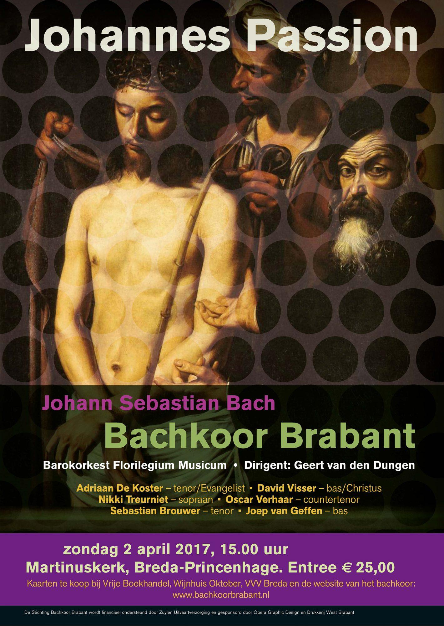 Bachkoor Brabant -  Johannes Passion 2017