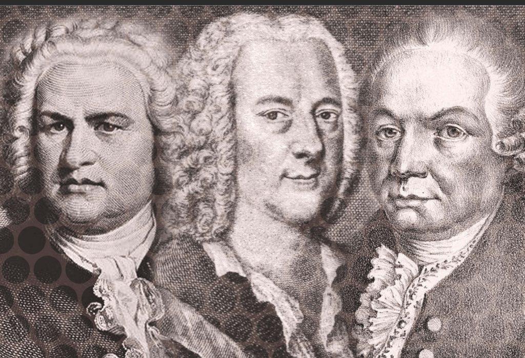 Bach en Teleman en Bachaan