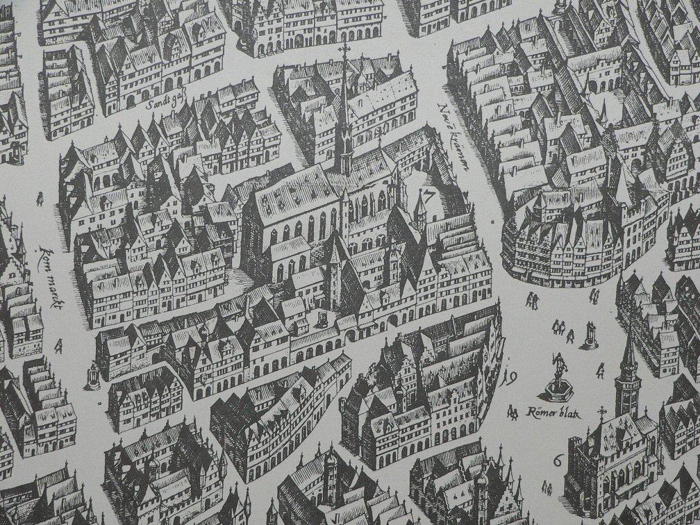 Frankfurt Barfüßerkirche 1628